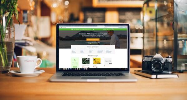 Популярный сайт по технологии краудсорсинга